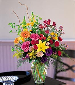 Fresh Seasonal Vase