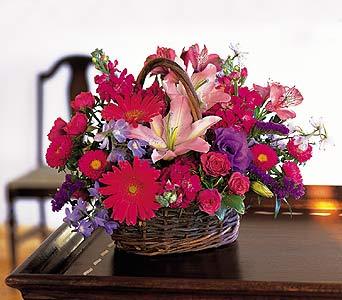 Joyous Floral Basket