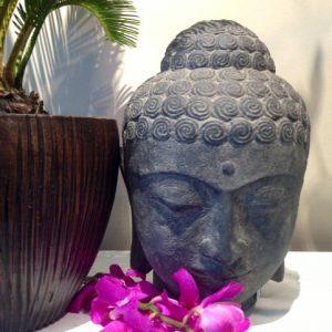 Serene Buddha Head