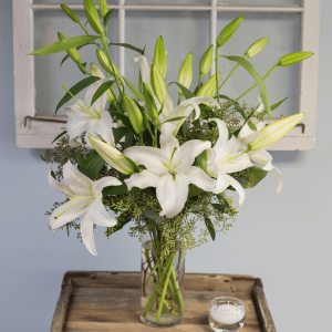 Big and Beautiful Lily Vase