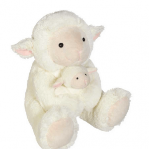 Happy Sheep and baby Lamb