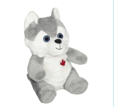 plush husky