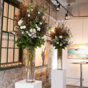 Ceremony flowers - the gallery wedding