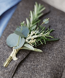 A simple boutonniere