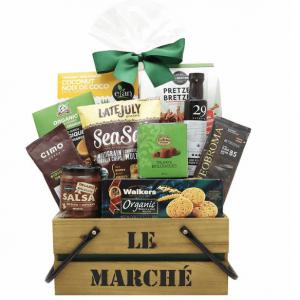 Organic Gourmet basket