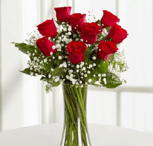 Capture 9 roses