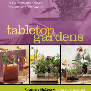 Tabletop Gardens - book by R. McCreary