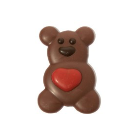 Chocolate Valentine's Bear