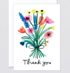 Hand Written Thank you Card